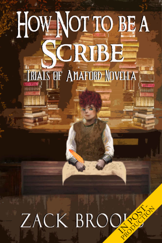 """<a href=""""https://www.amazon.com/How-Not-Be-Scribe-Amaford-ebook/dp/B07QVWJDVX""""><b>HOW NOT TO BE A SCRIBE</b> by Zack Brooks</a>"""